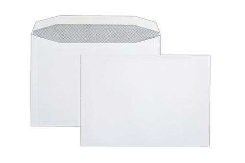 C4 229x324mm Autofast White 100gsm Opaqued Gummed Wallet 250 Pack