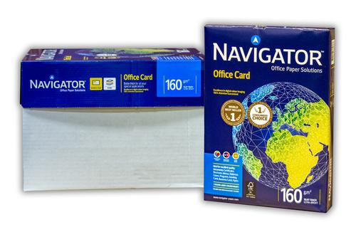 Navigator A4 160gsm Office Card 250 Sheets/Ream
