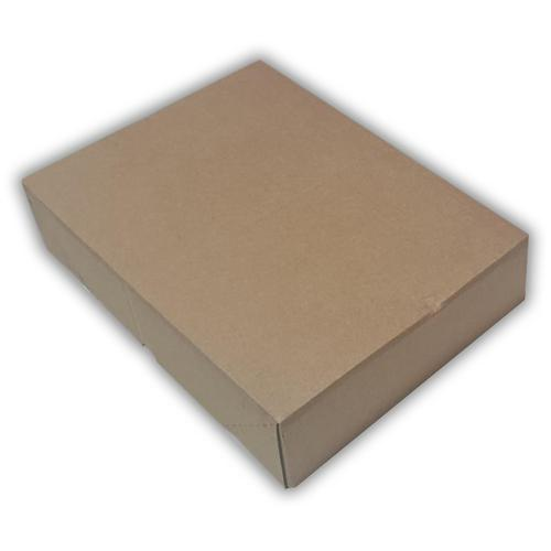 L330 x W233 x H76mm Brown Recyclable Board Box 20 Pack