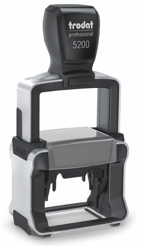 Trodat 5200 Professional 4.0 Self Inking Custom Stamp. Imprint Area 38 x 21 mm - 5 lines maximum