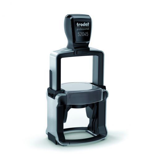 Trodat Professional 52045 Self Inking Custom Stamp. Imprint Area 45 x 30 mm Dia - Allows up to 12 lines of text