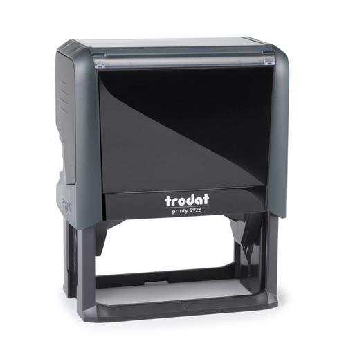 Trodat Printy 4926 Self Inking Custom Stamp. Imprint Area 72 x 35 mm - 8 lines maximum