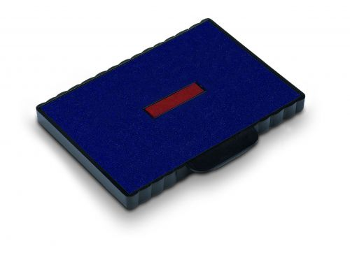 Trodat 6/511 Replacement Ink pad (Red/Blue) This ink pad comes in a pack of 2 to further extend the life of your Professional 5211 self-inking stamp.