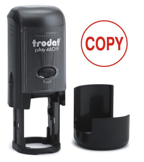 Trodat Printy 46019 Word Stamp Self Inking Red COPY