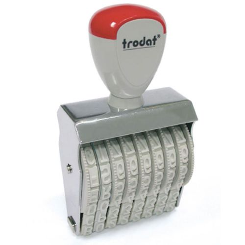 Trodat Classic Line 15510 Numberer - This stamp features 10 adjustable bands each with a character size of 5mm perfect for use at a large event.
