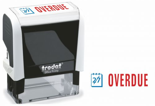 Trodat Office Printy 4912 White OVERDUE