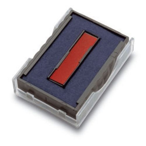 Trodat 6/4750/2 Replacement Ink Pad For Printy 4750 Red/Blue