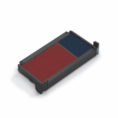 COLOP 6/4912/2 Replacement Ink Pad Blue/Red (Pack of 2) 6/4912/2