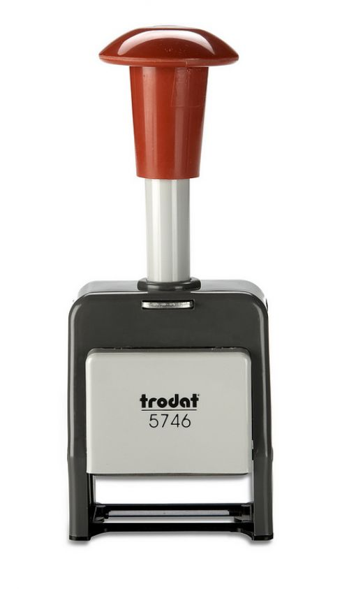 Trodat Self Inking Plastic Automatic Numberer Stamp - 4.5mm Character Imprint