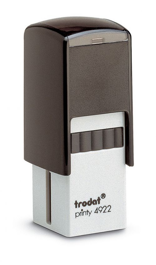 Trodat Printy 4922 QR Self Inking Custom Stamp. Imprint area 17 x 17 mm