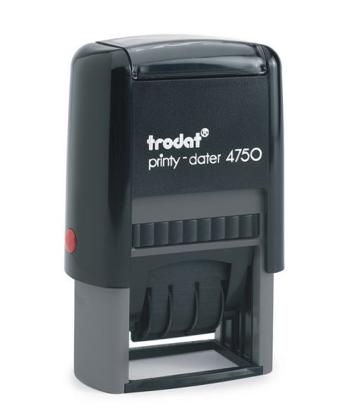 Trodat EcoPrinty 4750 Dater Paid Red/Blue