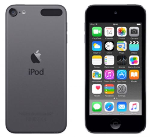 Apple iPod Touch (4.0 inch Multi-touch) Retina Display A8-Chip 32GB WLAN Bluetooth Camera iOS8 (Space Grey)