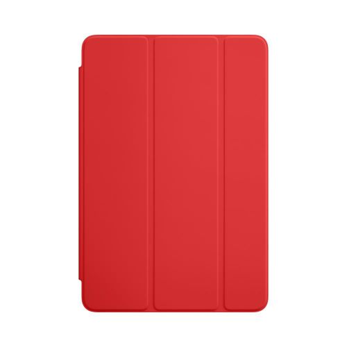 Apple Polyurethane Smart Cover (Red) for iPad Mini 4