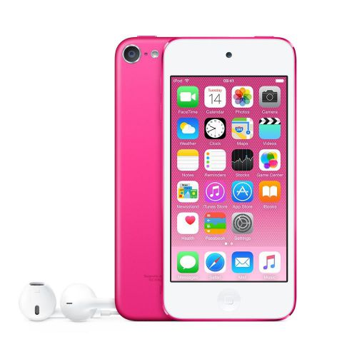 Apple iPod Touch (4.0 inch Multi-touch) Retina Display A8-Chip 128GB WLAN Bluetooth Camera iOS10 (Pink)
