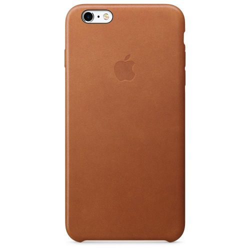 Apple Leather Case (Saddle Brown) for iPhone 6s Plus