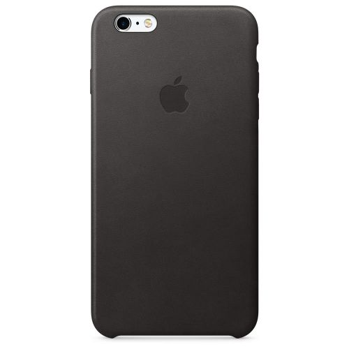 Apple Leather Case (Black) for iPhone 6s Plus