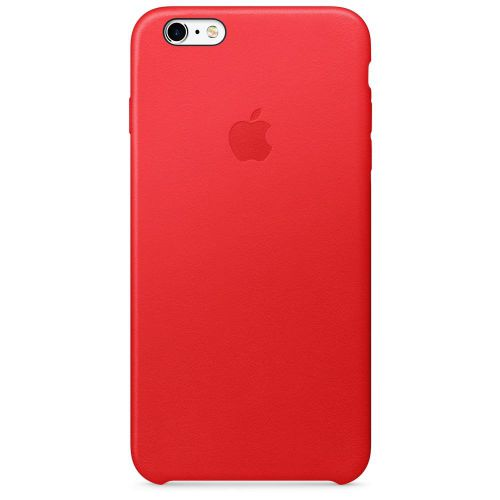 Apple Leather Case (Red) for iPhone 6s Plus