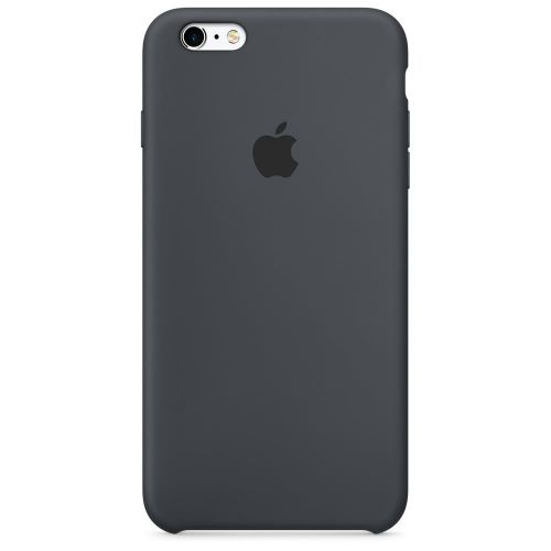 Apple Silicone Case (Charcoal Grey) for iPhone 6s Plus