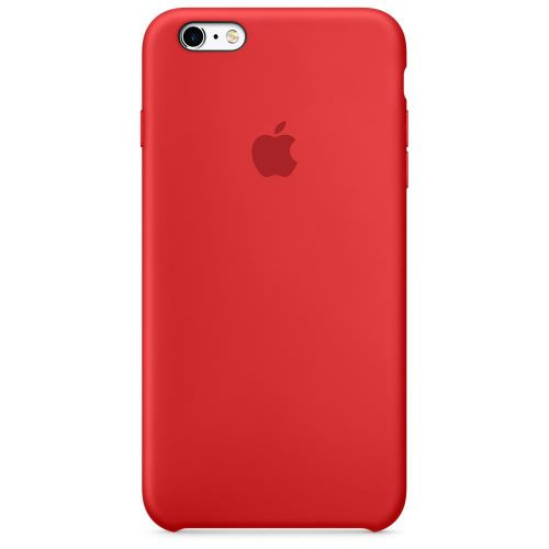 Apple Silicone Case (Red) for iPhone 6s Plus