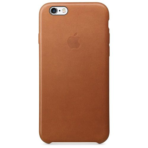 Apple Leather Case (Saddle Brown) for iPhone 6s