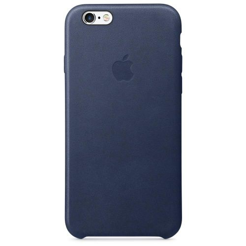 Apple Leather Case (Midnight Blue) for iPhone 6s