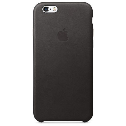 Apple Leather Case (Black) for iPhone 6s