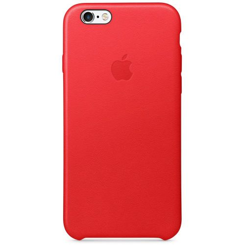 Apple Leather Case (Red) for iPhone 6s