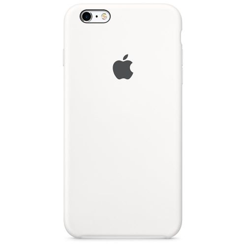 Apple Silicone Case (White) for iPhone 6 Plus