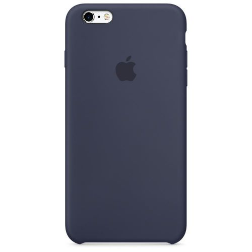 Apple Silicone Case (Midnight Blue) for iPhone 6 Plus