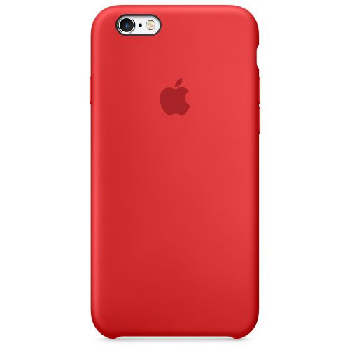Apple Silicone Case (Red) for iPhone 6s
