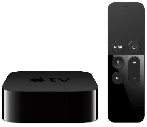 Apple Television Box 4K 32GB Wi-Fi Bluetooth HDMI Siri Remote (Black)