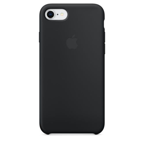 Apple Silicone Case (Black) for iPhone 7/8