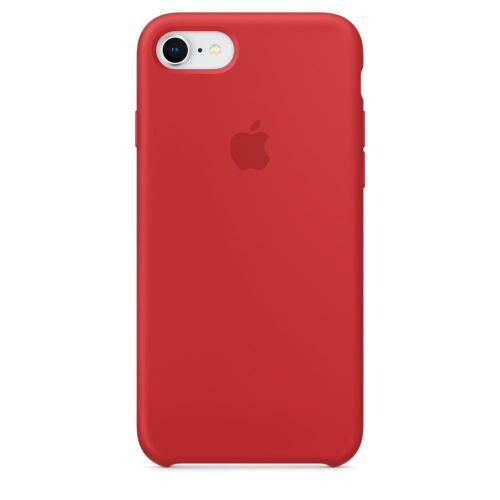 Apple Silicone Case (Red) for iPhone 7/8