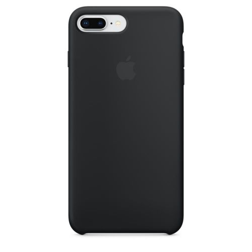 Apple Silicone Case (Black) for iPhone 7 Plus/8 Plus