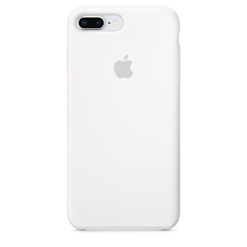 Apple Silicone Case (White) for iPhone 7 Plus/8 Plus