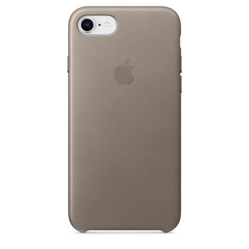 Apple Leather Case (Taupe) for iPhone 7/8