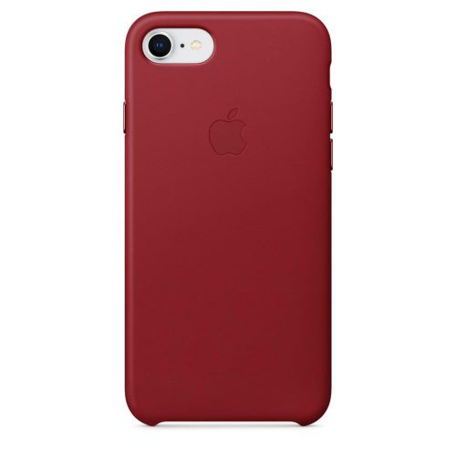 Apple Leather Case (Red) for iPhone 7/8