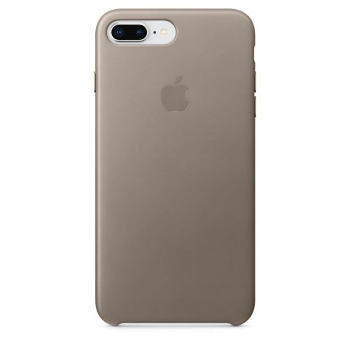 Apple Leather Case (Taupe) for iPhone 7 Plus/8 Plus
