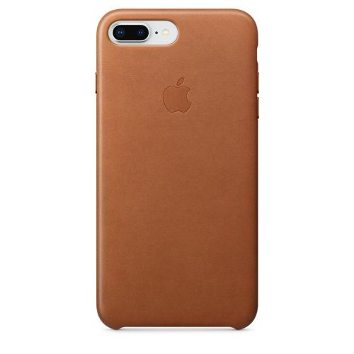 Apple Leather Case (Saddle Brown) for iPhone 7 Plus/8 Plus