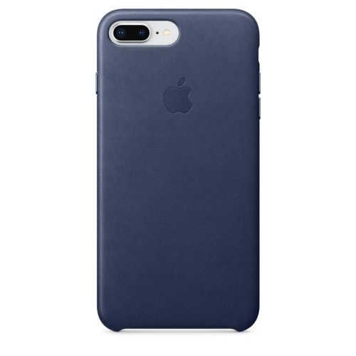 Apple Leather Case (Midnight Blue) for iPhone 7 Plus/8 Plus