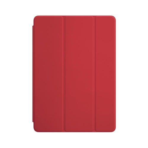 Apple Polyurethane Smart Cover (Red) for iPad/iPad Air 2