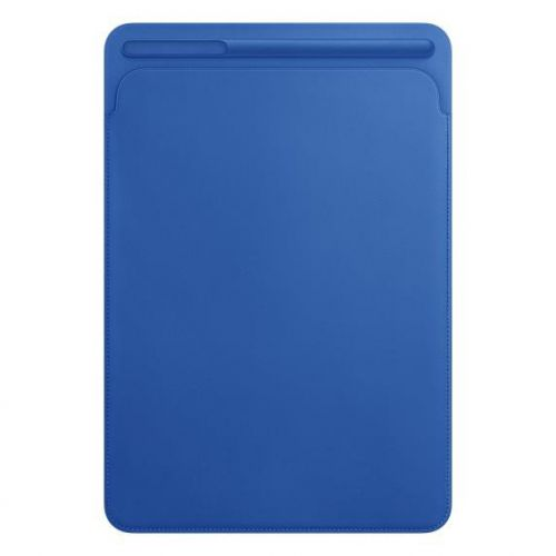 Apple Leather Sleeve (Electric Blue) for 10.5 inch iPad Pro