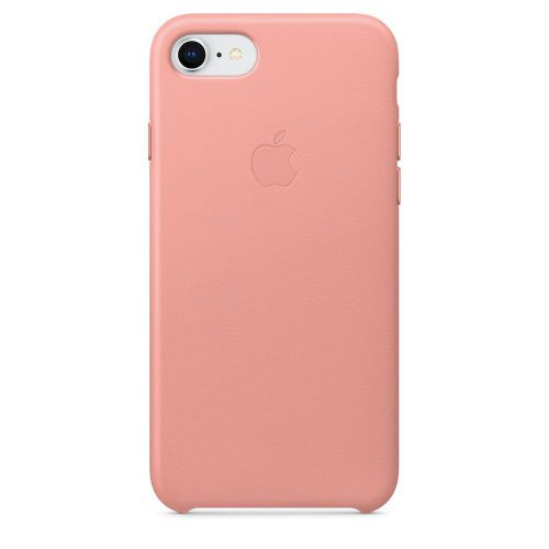 Apple Leather Case (Soft Pink) for iPhone 7/8