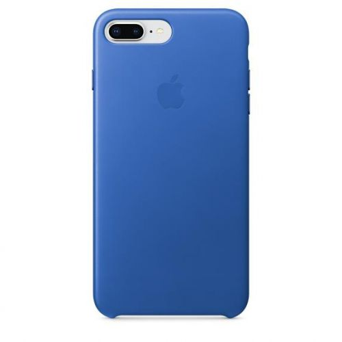 Apple Leather Case (Electric Blue) for iPhone 7 Plus/8 Plus