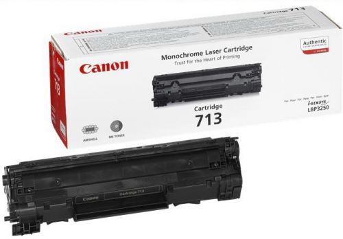 Canon 713 Black (Yield 2,000 Pages) Toner Cartridge