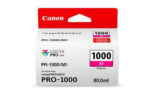 Canon PFI-1000M (Megenta) Ink Cartridge (80ml)
