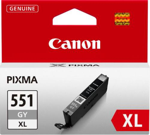 Canon CLI-551Xlgy Grey Ink Blister With Security