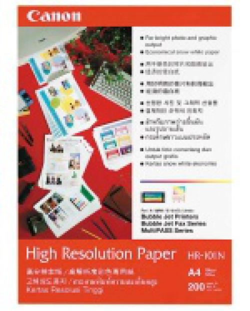 Canon HR-101N (A4) High Resolution Paper (50 Sheets)