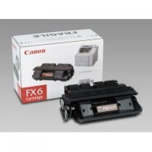 Canon FX-6 Black (Yield 5,000 Pages) Laser Fax Cartridge