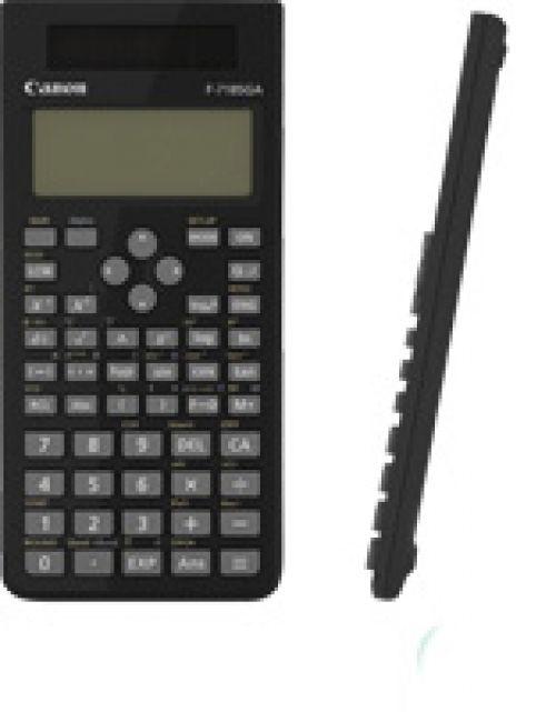 Canon F-718SGA Battery/Solar-powered Scientific Calculator (Black)